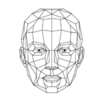 veidoskaita galvos logotipas